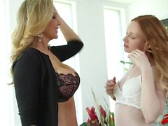 Lesbian Sex With Julia Ann & Katy Kiss