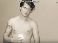 Danish glad Sexuell Modell Boy: Rasmus S , av Grenå - Live In Vet ( Bakom scenen )