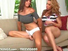 Hot lesbian ass licking teen girls