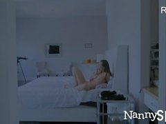 NannySpy Naughty maid Aidra Fox hired and fucked on halloween