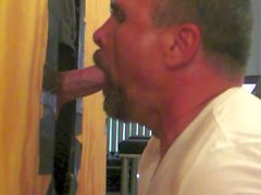 Taking Cock at the Glory Hole.