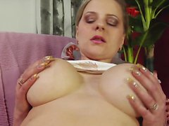 WANKZ Big Titted Old Broad Gets Drilled