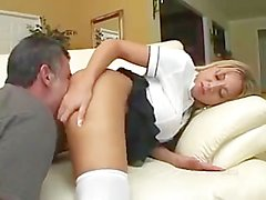 Blonde insatiable anal