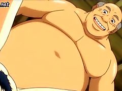 Milf anime saa hänen kusipää laid