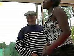 Att han delar Nerd flickvän gamle mannen