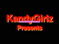 Sexy School Girl Sarah strips naked for KandyGirlz.com