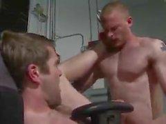 Colby Keller & Brandon Bangs Fucking