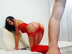 Ass Bouncing Brunette Fucking Doggystyle