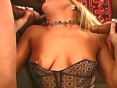 Black monster cocks hot orgy session with hot blonde hustlers