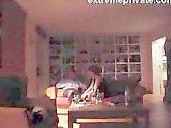 Min mamma och hon Datum fastnat i spionera kamera
