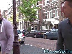 Dutch hooker gets railed