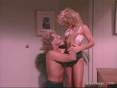 K C Williams and Randy On The Desk Tags, blonde retro classic sex blowjob cumshot