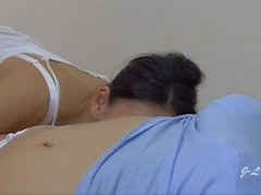 Hot Older Asian Lady Molesters Youngers BELLY!