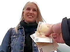 Gorgeous Eurobabe Beata fucked for cash