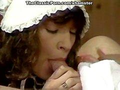 Nina Hartley, Nina DePonca, Jerry Butler in classic sex clip