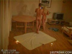Babe banged on hidden cam