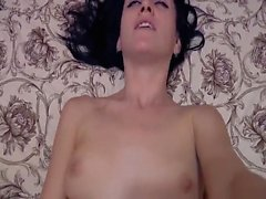 Blonde whore used and fucked as a POV