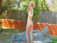 blondie love outdoor shower