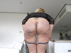 Mexican Tgirl with big thirsty ass