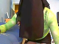 sexy niqabi dance