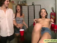 College party ends in amazing sex for a blonde