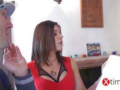 Italian Pornstar - Valeria Borghese - The painter xtime TV