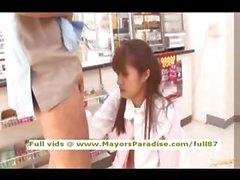 Mihiro innocenza ragazza cinese gode di ottenere supermercati sesso