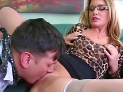 Milf blows and fucks