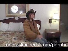 Cowgirl Being Bad in Hotel Room