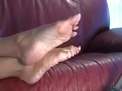 Sophia Mature Feet 1 2 - feet foot worship pantyhose world