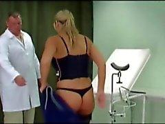 Sara's Pussy Spanking