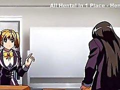 Favolosa della clip romance di hentai censurate a scene madri Tettone