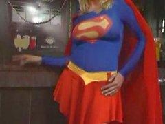blonde superwoman fly