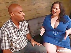 Big Booty White Girl Glory Gets Destroyed By Big Black