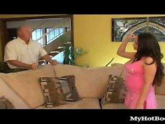 Sandra sandra in Soto si assicura il suo uomo è duramente con un umido e la ...