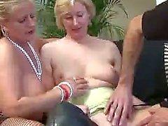 British MILF chicks getting anal fucked