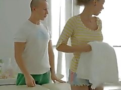 Hot Massage and fuck for petite Teenager