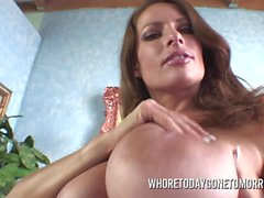 Huge Tit Goldie Blair Masterbates For You With Toys