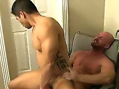Spencer Williams gets fucked by a mature stud