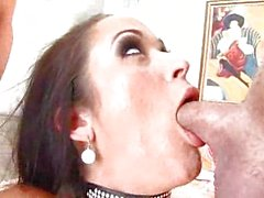 Carmella Bing Blows Lots of Cock