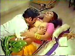 Maldito Maid india con su jefe a de la cocina