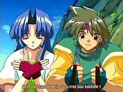 Anime Романтика витает во вспышки Меча II 3
