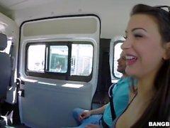 Susy Gala conseguir deshuesada en el Bang Bus