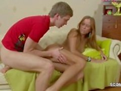 Brother Seduce His Step-Sister to Assfuck