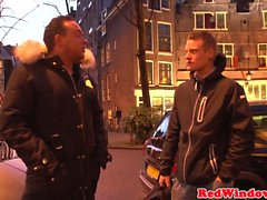 BBW Hollandalı fahişe becerdin ve jizzed