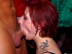 Real partying amateurs enjoy orgy