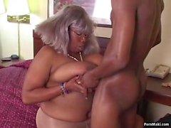 BBW Ebony Granny