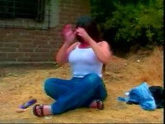 chubby milf in a menage a trois