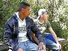 Renzo and Joey angel on a hot trip