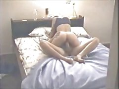 Amateur Wife with Lover on Hidden Cam